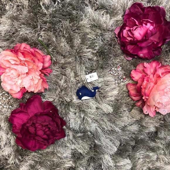 Pocketbac Holder Blue Flowers Bath And Body Works Older Style Bath & Body Health & Beauty